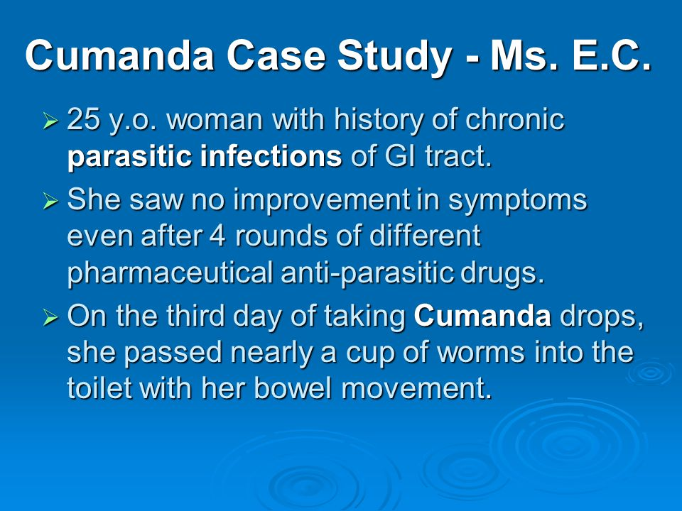 Cumanda Case Study - Ms. E.C. 25 y.o.
