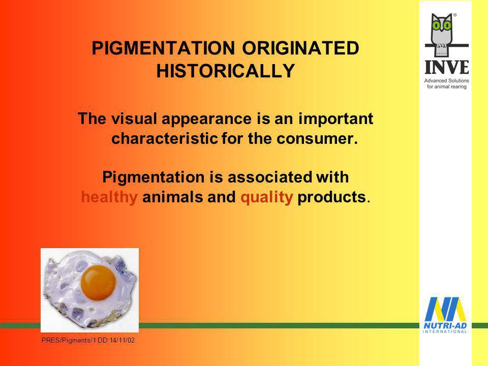 PRES/Pigments/1 DD 14/11/02 NATURAL PIGMENTS
