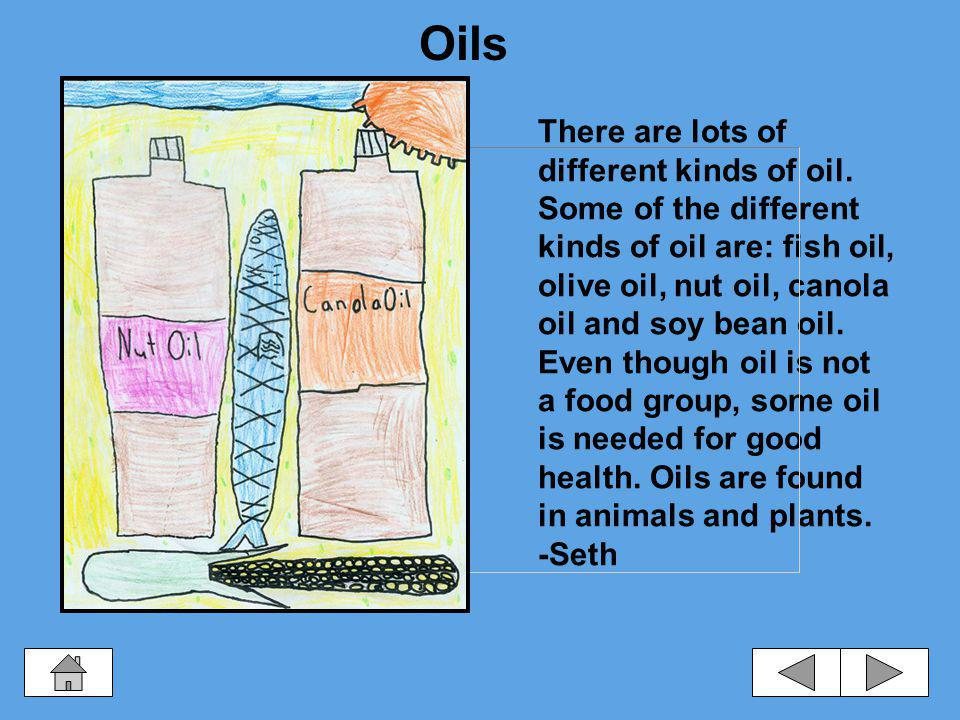 Oils, Fats, and Sugars Oils Fats and Sugars