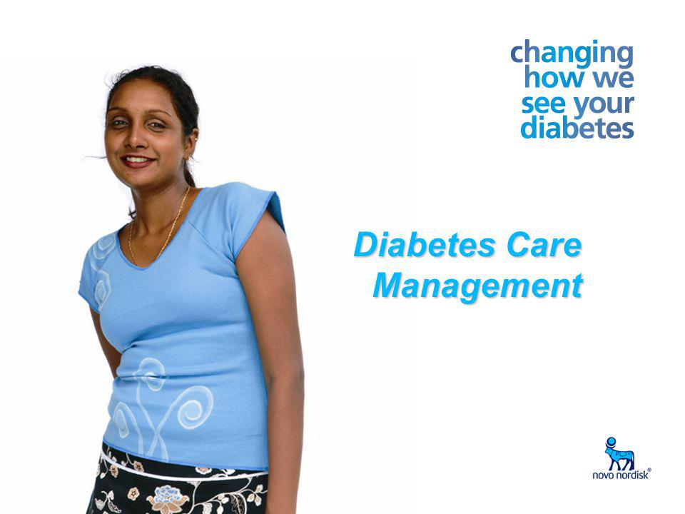 Write Presentation Title Date in Footer 1 Diabetes Care Management