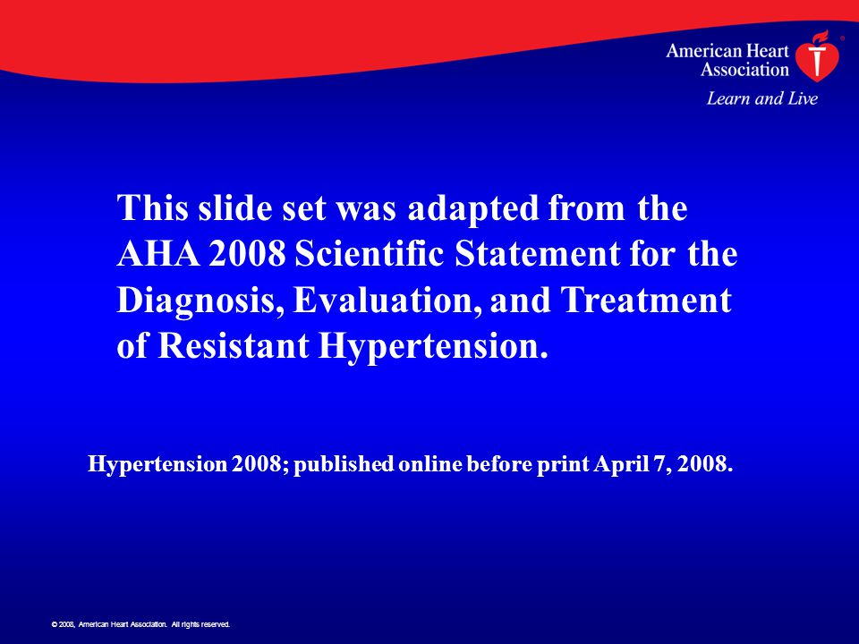 © 2008, American Heart Association.All rights reserved.