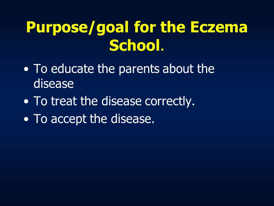 Different names for the disease Child eczema Asthma eczema Atopic dermatitis Atopic eczema Prurigo Besnier