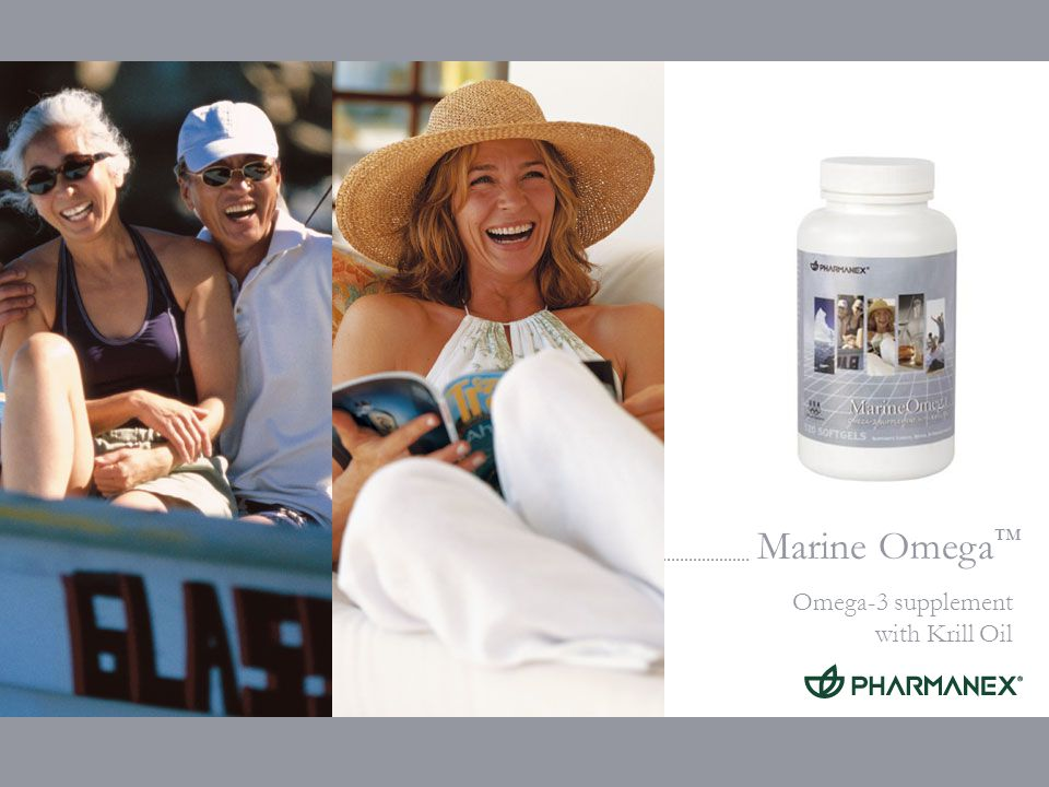 Marine Omega Omega-3 supplement with Krill Oil Complementary Products for specific needs Supports Brain Function: MarineOmega + BioGinkgo BioGinkgo is available in: Denmark, Iceland, Italy, Netherlands and UK