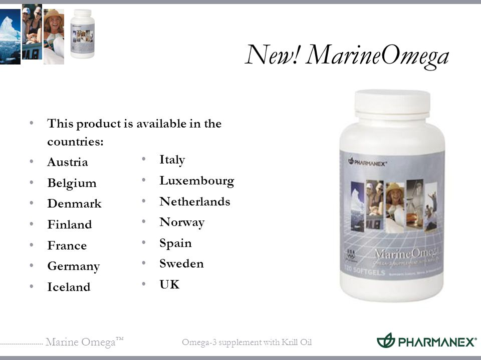 Marine Omega Omega-3 supplement with Krill Oil What can fatty acid imbalance do to your health.