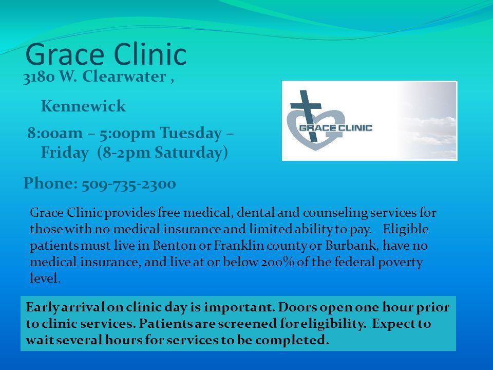 Grace Clinic 3180 W.
