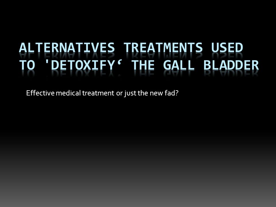Effective medical treatment or just the new fad