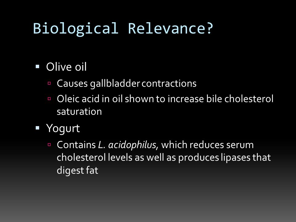 Biological Relevance.