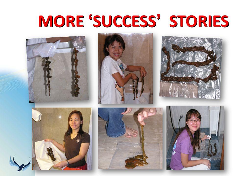 MORE SUCCESS STORIES
