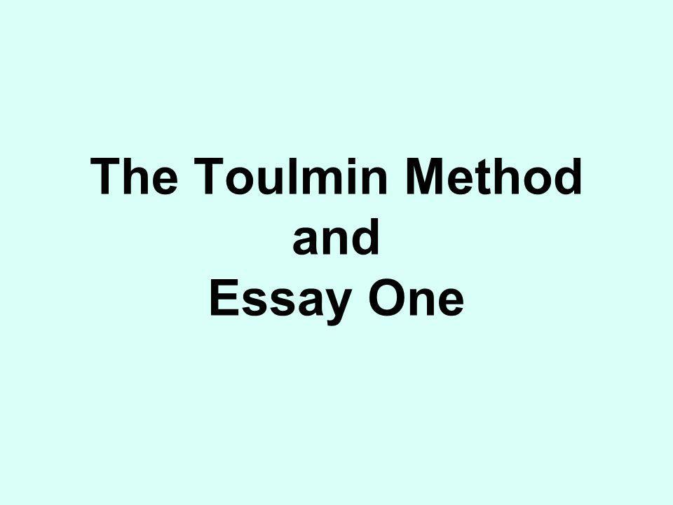 Essay One Topic Proposal Part One: Describe your topic.