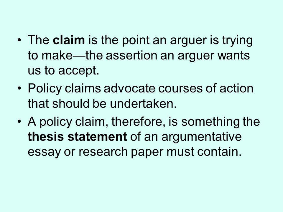 Argument based on Generalization A very common form of reasoning that assumes that what is true of a well-chosen sample is likely to hold for a larger group or population, or that certain things consistent with the sample can be inferred of the group/population.