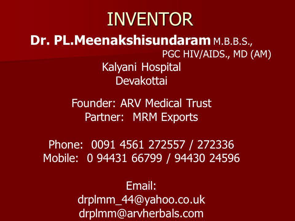 INVENTOR Dr.