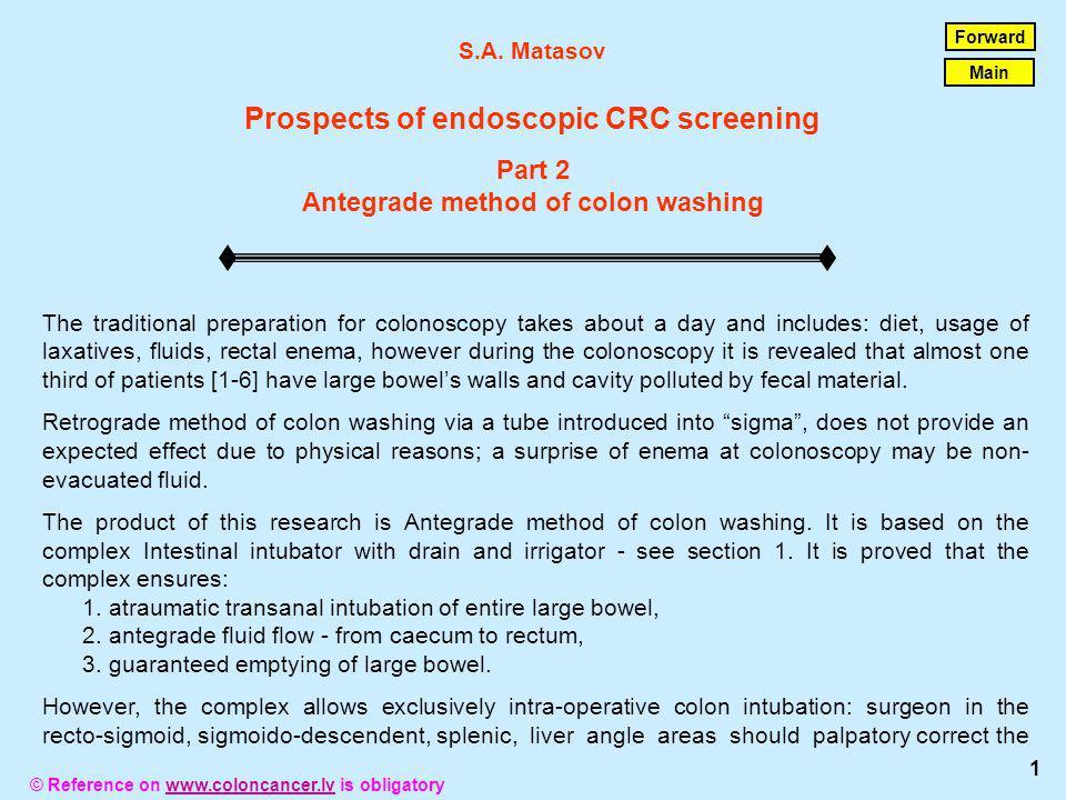 © Reference on www.coloncancer.lv is obligatorywww.coloncancer.lv direction of invaginators eversion.