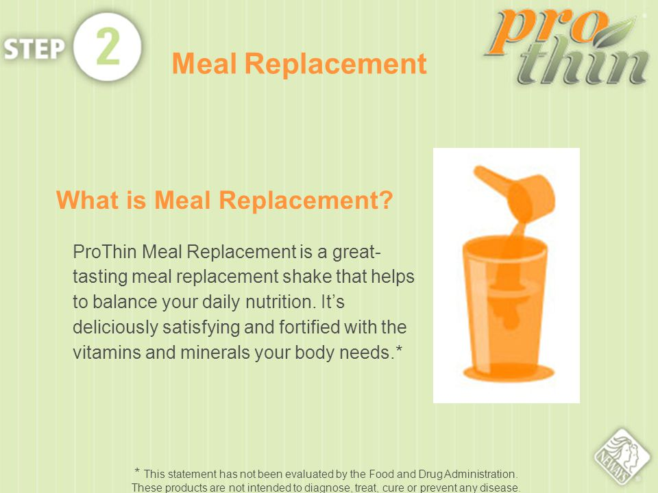 What is Meal Replacement.