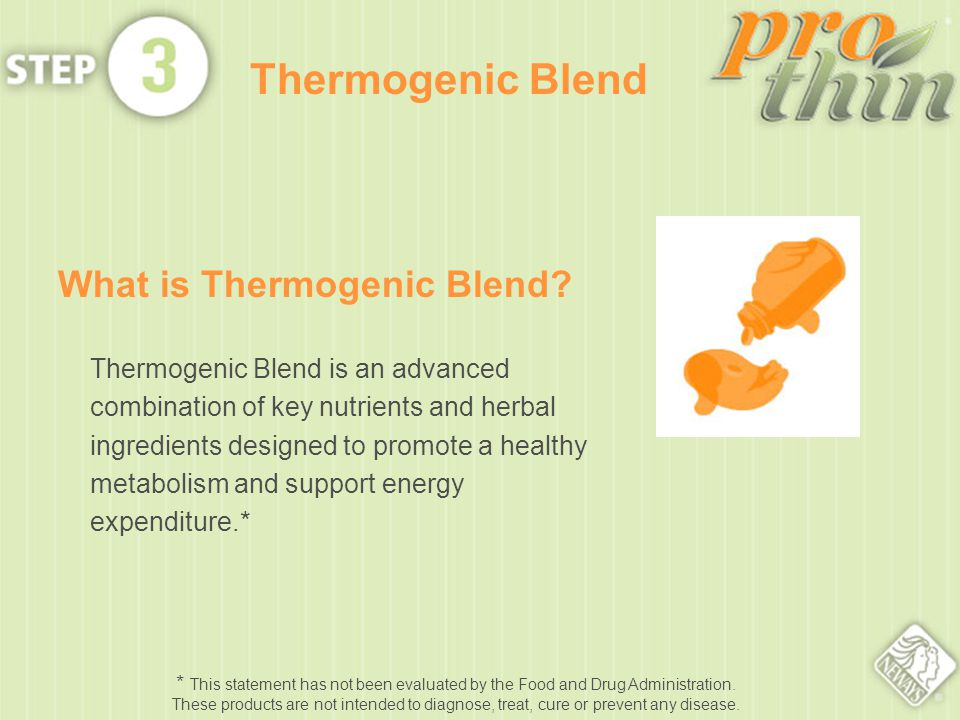 What is Thermogenic Blend.