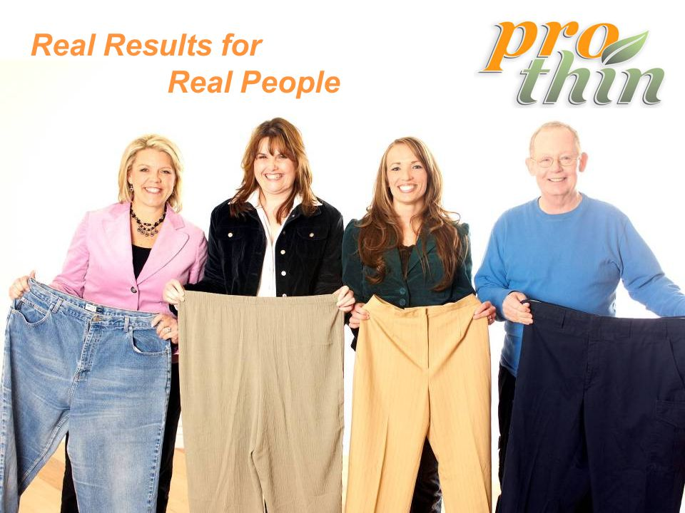 Real Results for Real People