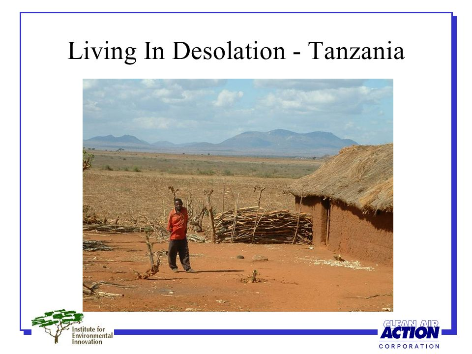 Living In Desolation - India