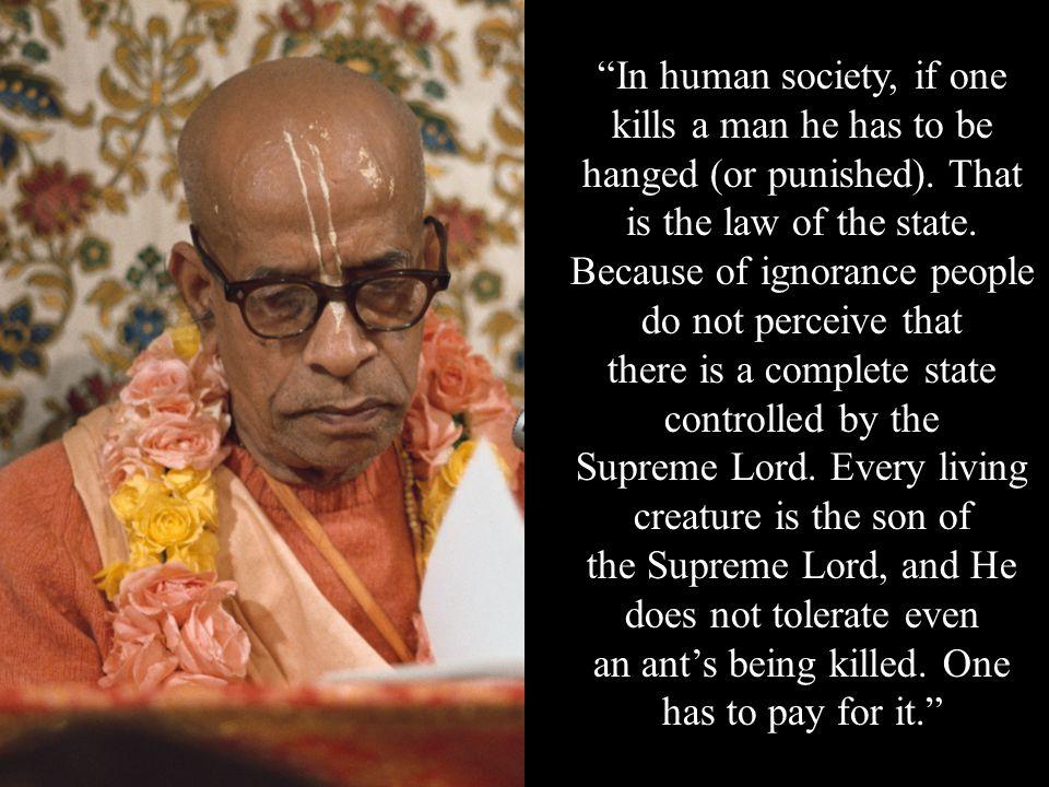 Srila Prabhupada explains …