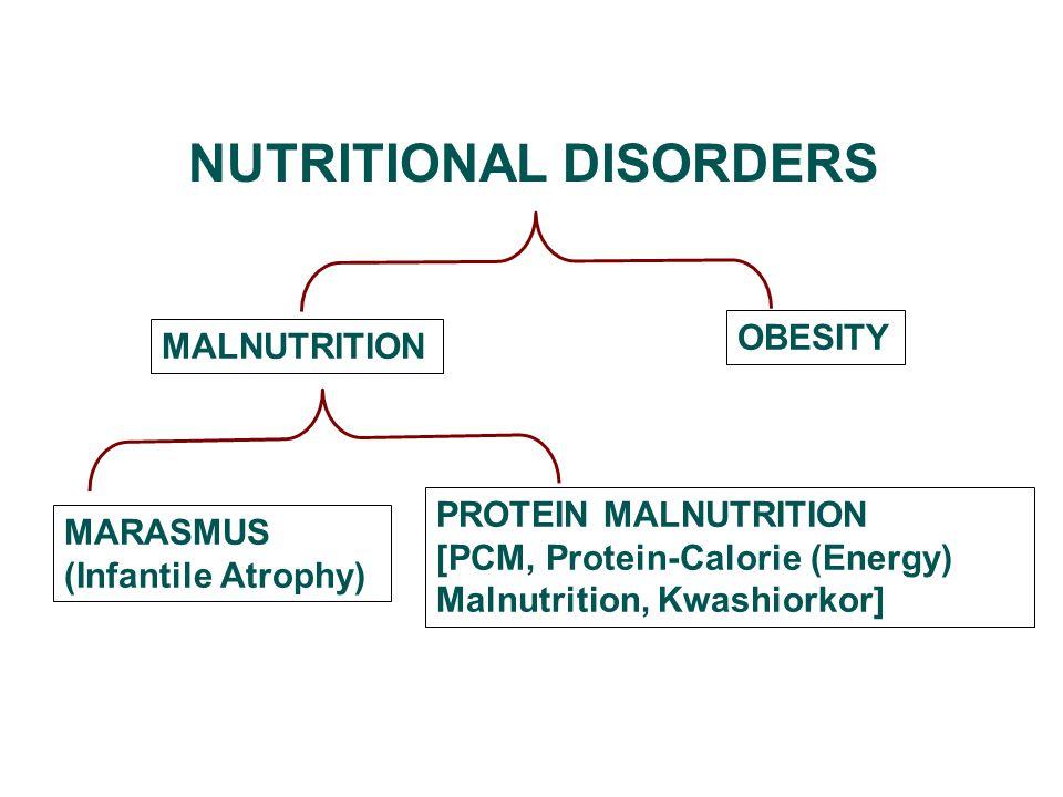 MARASMUS (Infantile Atrophy, energy-deficiency or energy-protein deficiency)