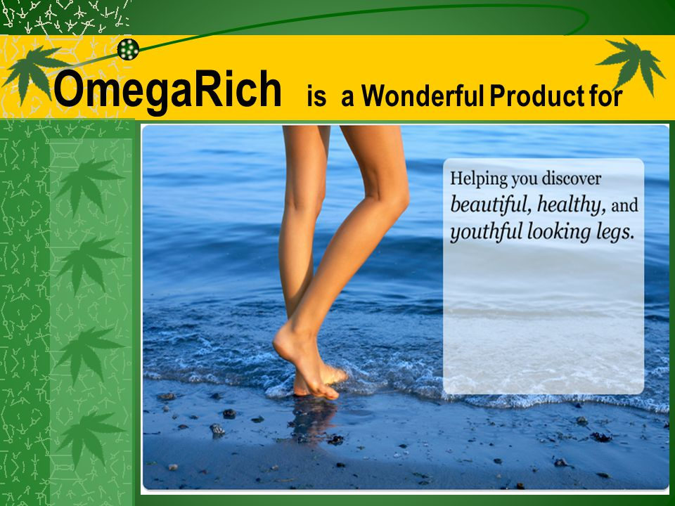 OmegaRich is a Wonderful Product for