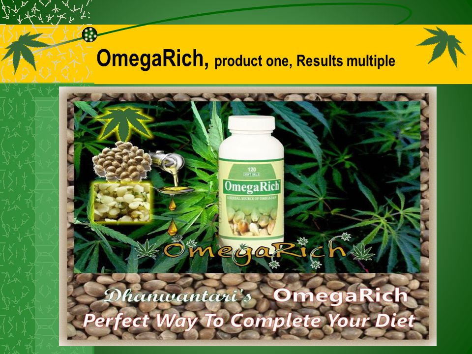 OmegaRich, product one, Results multiple
