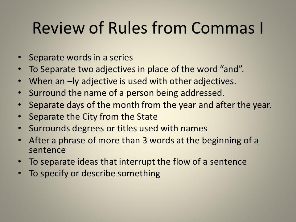 Conjunctions Conjunction Junction