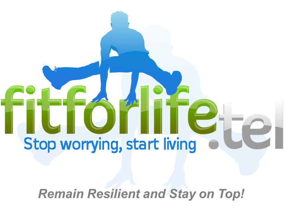 fitforlife.tel is an approach to living which helps people take control of their lives by building resilient behaviours.