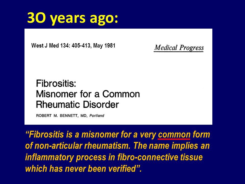59.1 27.0 5.0 3.0 1.3 Low back painOsteoarthritisFibromyalgiaGoutRheumatoid arthritis Fibromyalgia is the third commonest cause of chronic pain 1 Rooks DS.