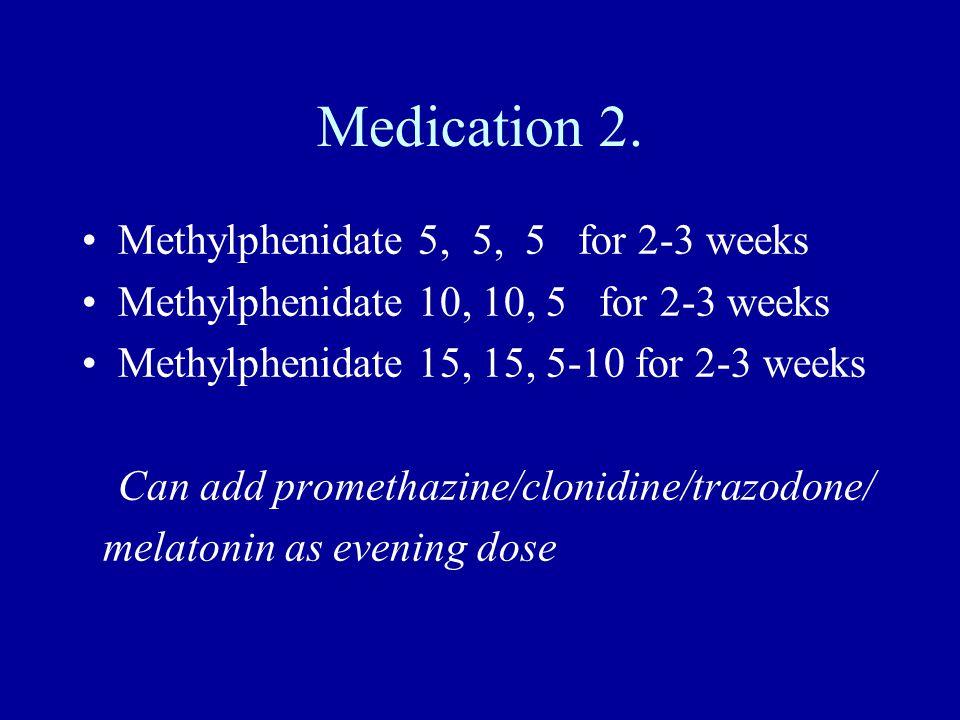 Medication 2.