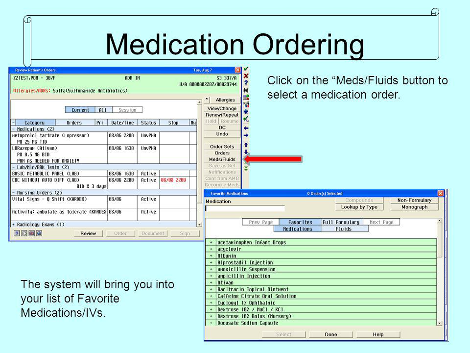Highlight the medication and select correct Route.