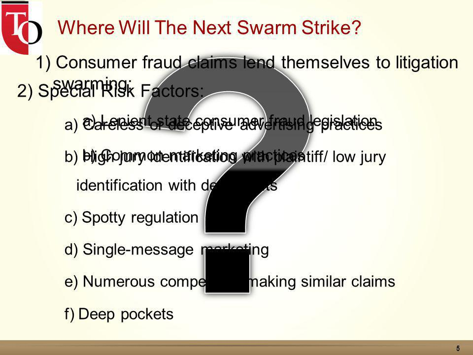 16 What Can You Do To Protect Your Company From Litigation Swarms.
