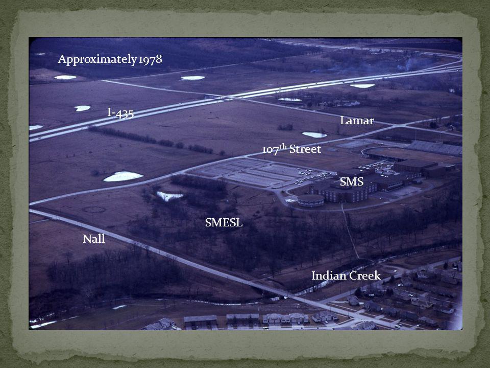 Approximately 1978 SMS SMESL Indian Creek Nall 107 th Street Lamar I-435