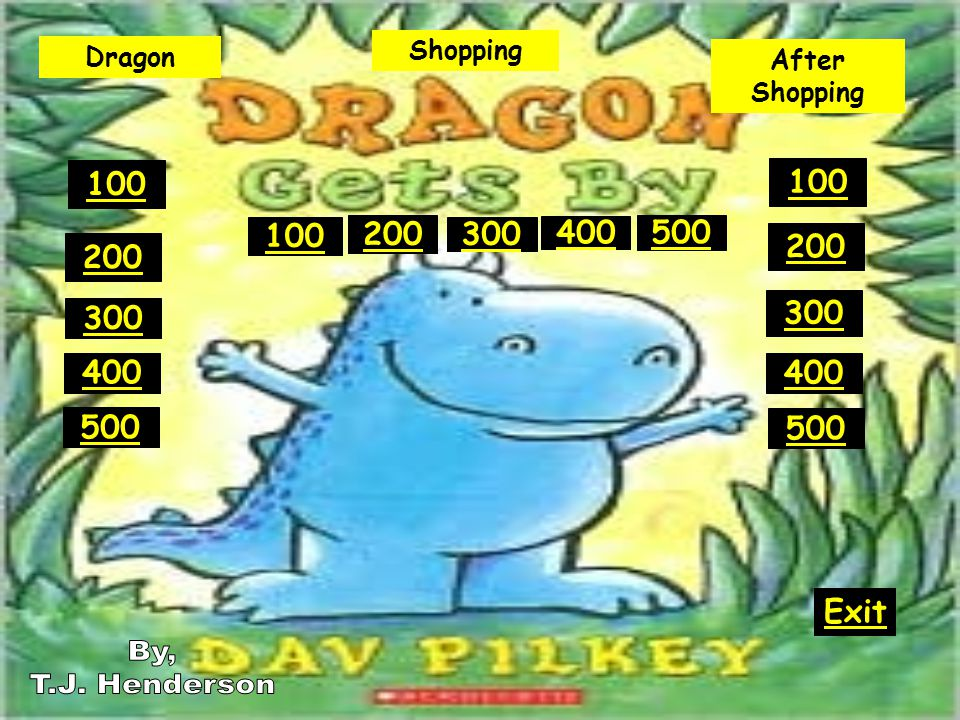 Shopping 500 What did Dragon buy for the meat group? What is Pork Rinds