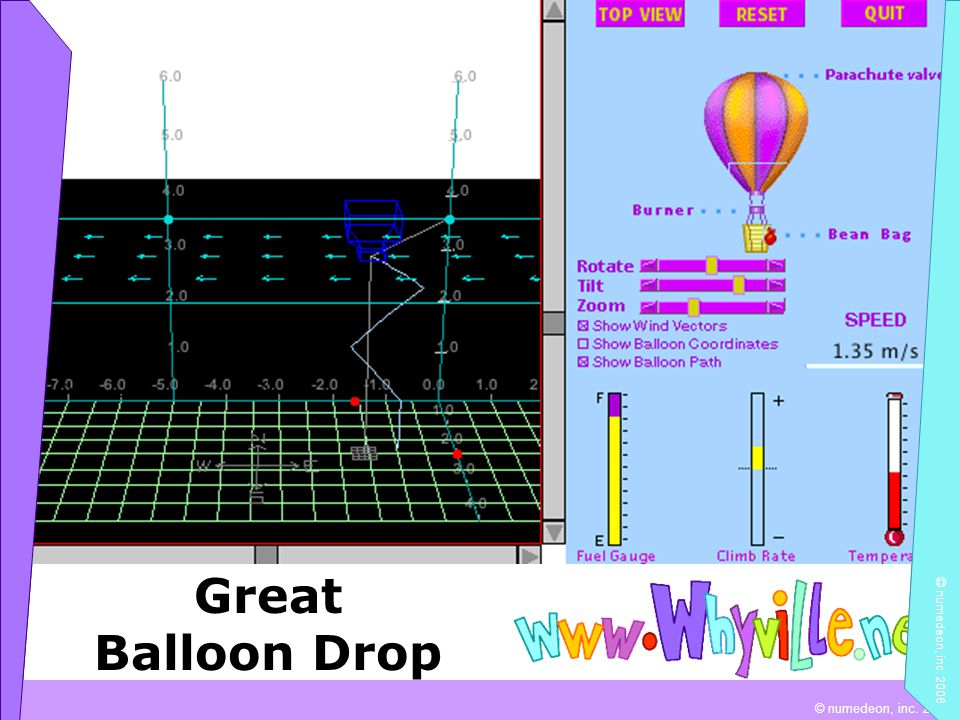 © numedeon, inc. 2004 Great Balloon Drop © numedeon, inc. 2006