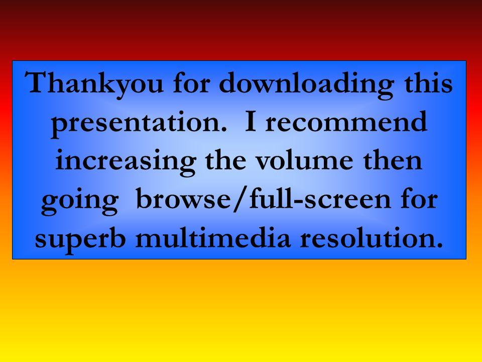 Thankyou for downloading this presentation.