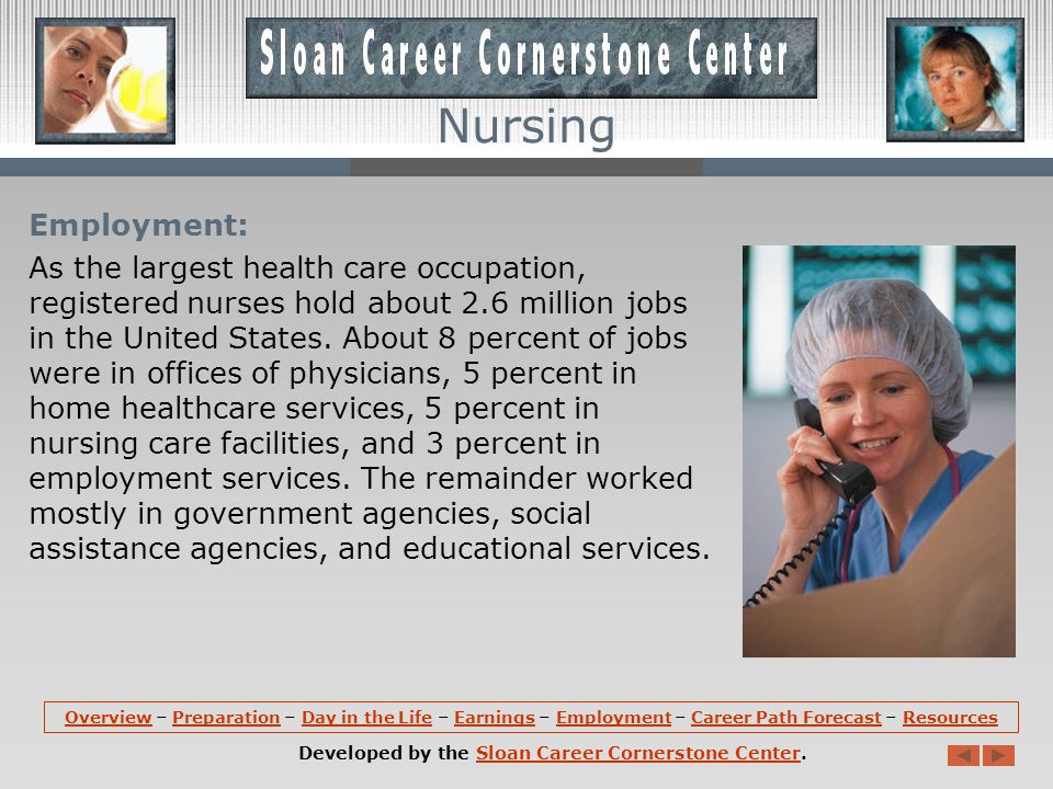 Earnings: Median annual earnings of registered nurses are about $62,450 in the United States.