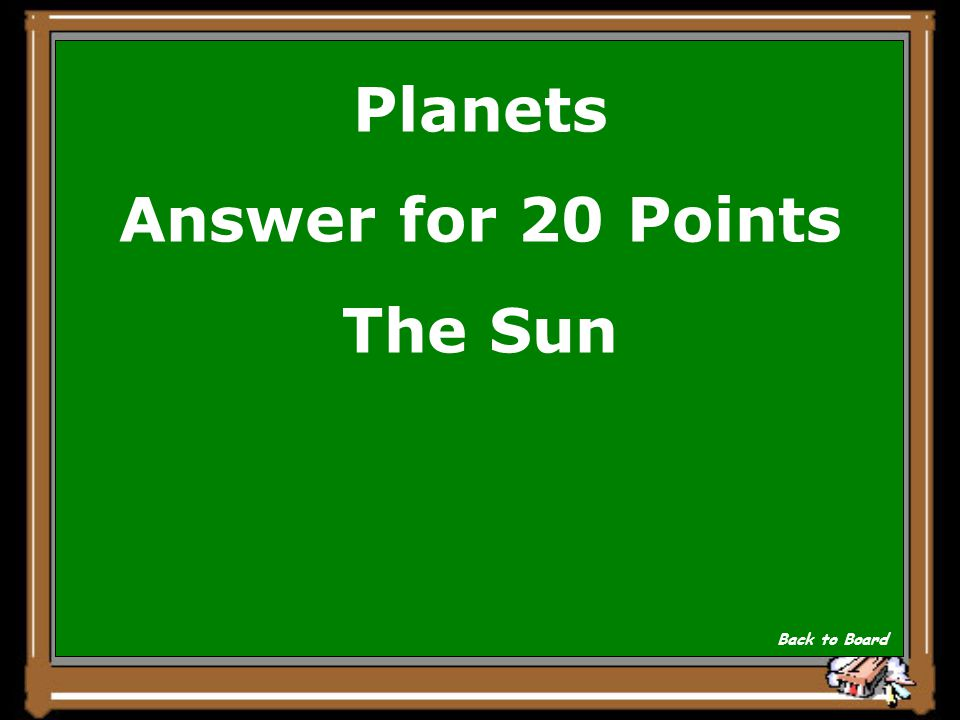 Planets Question for 20 Points What is the largest body in the Solar System? Show Answer