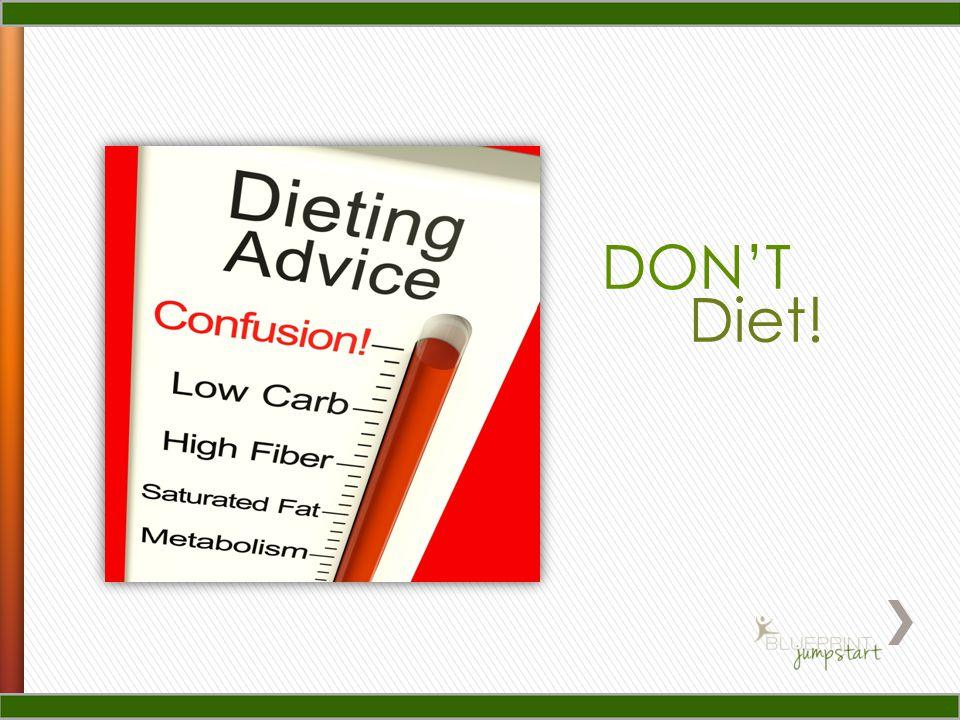 DONT Diet!