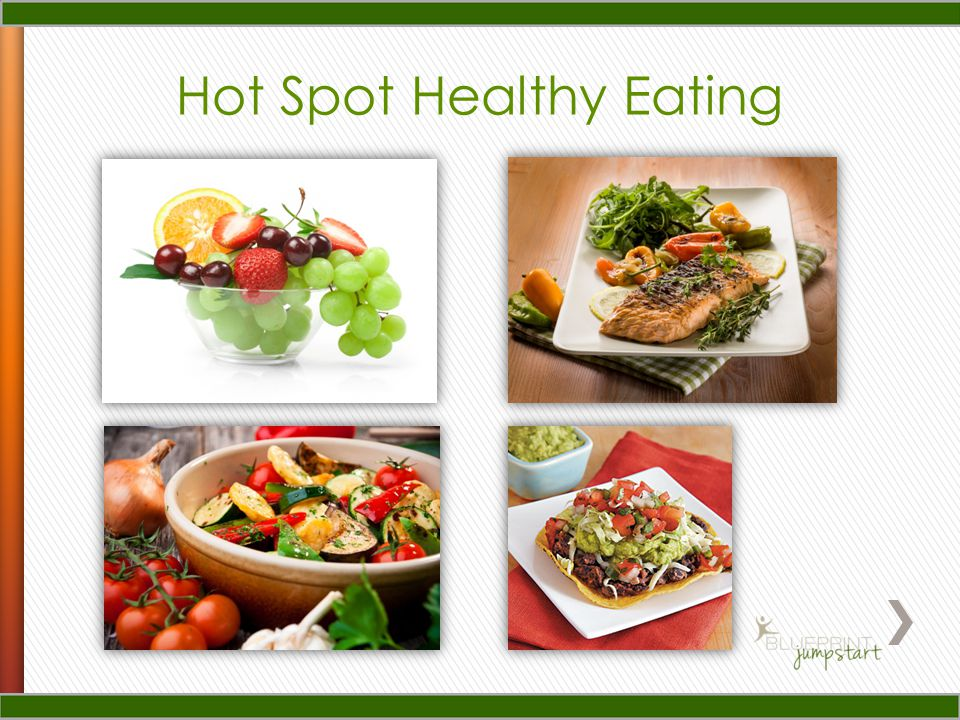 Hot Spot Healthy Eating