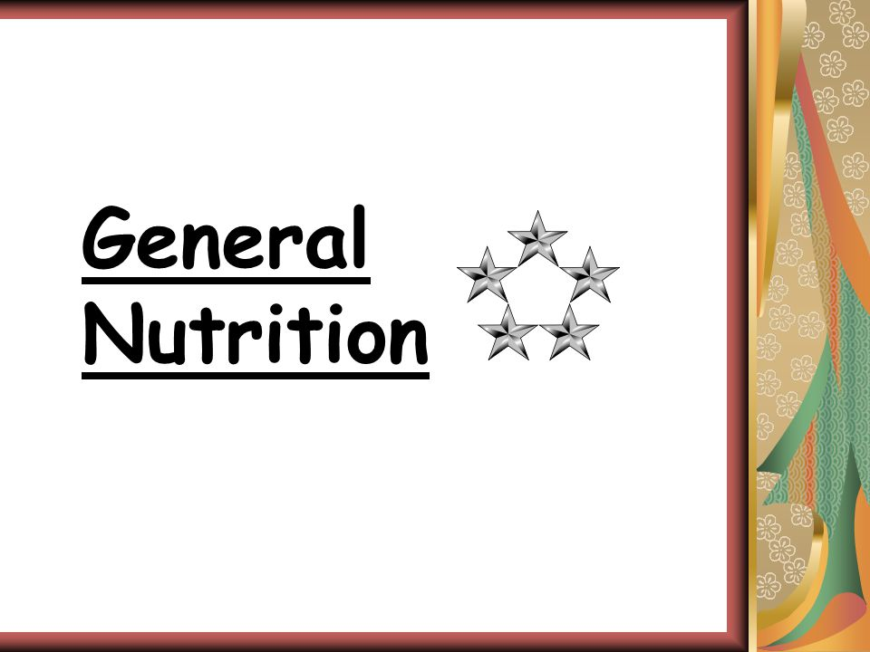 General Nutrition