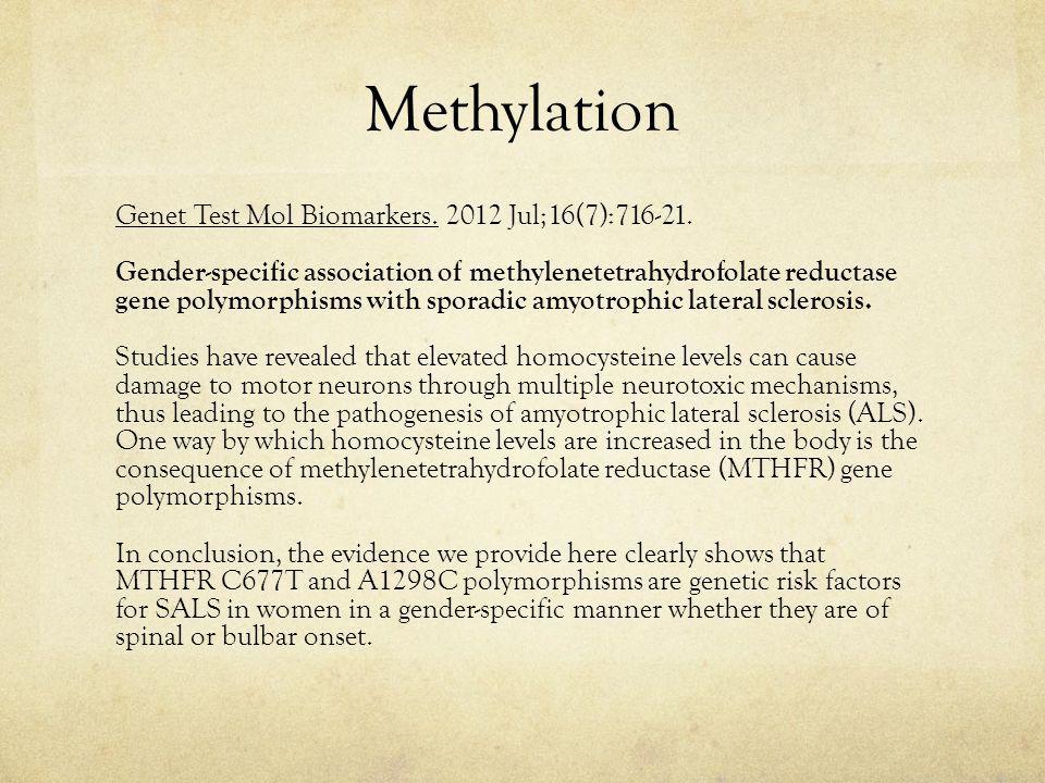Methylation Genet Test Mol Biomarkers.2012 Jul;16(7):716-21.