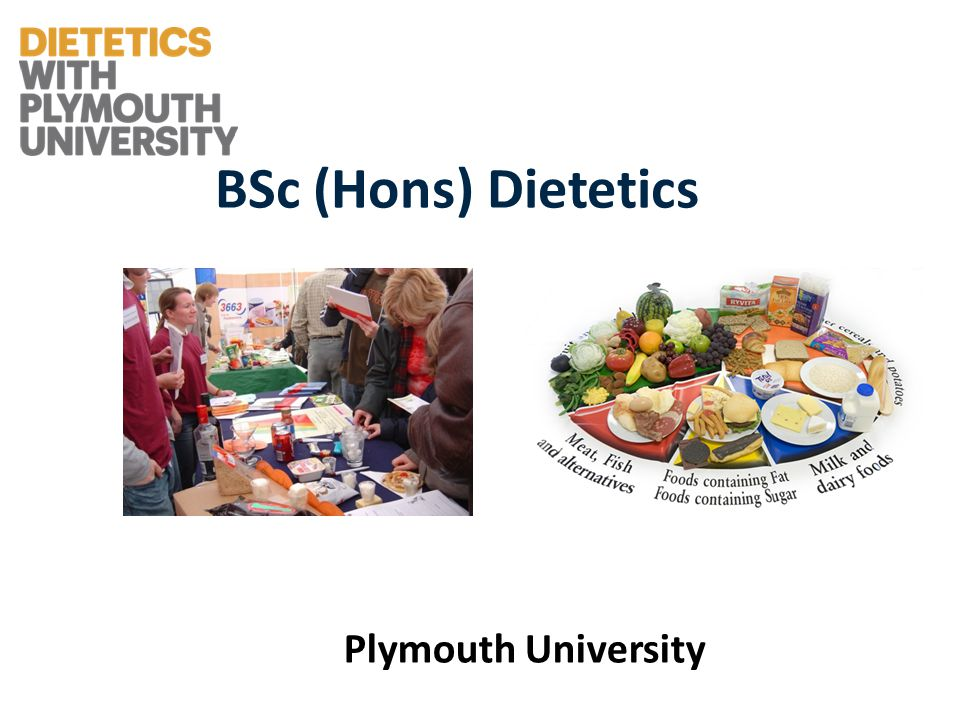BSc (Hons) Dietetics Plymouth University