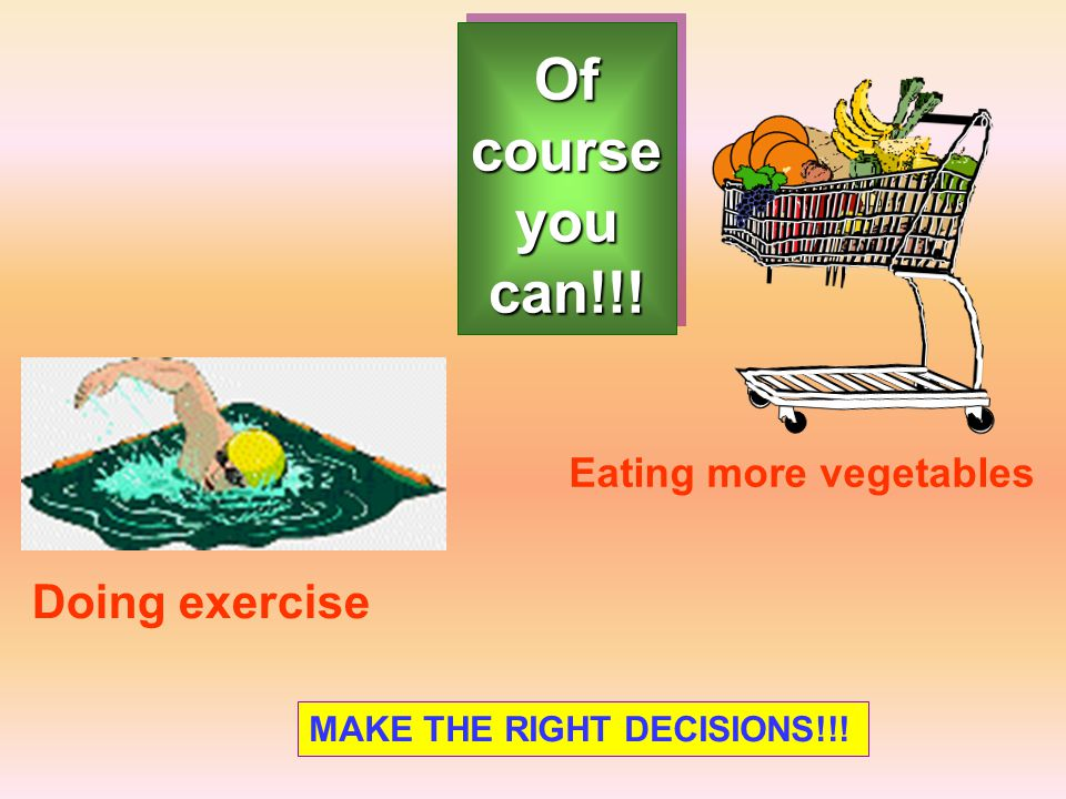 Of course you can!!! Doing exercise Eating more vegetables MAKE THE RIGHT DECISIONS!!!