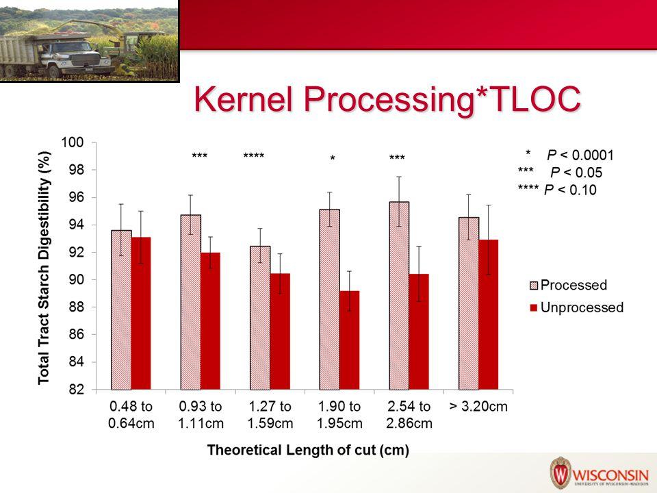 Experimental Diets (DM basis) ShredlageKP Shredlage50%--- KP Silage---50% Alfalfa Silage10% Ground Dry Shelled Corn10.3% Corn Gluten Feed7.4% SBM 48%, solvent6.9% SBM, expeller9.3% Rumen-Inert Fat1.9% Min/Vits4.2%
