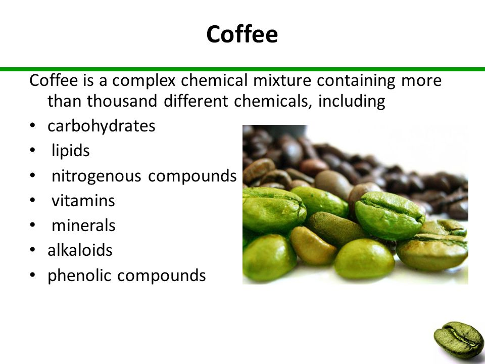 What is Green Coffee Extract.