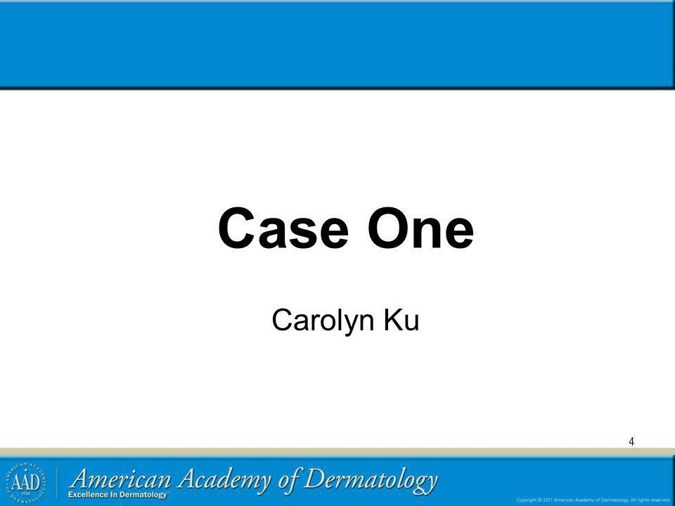 Case One Carolyn Ku 4