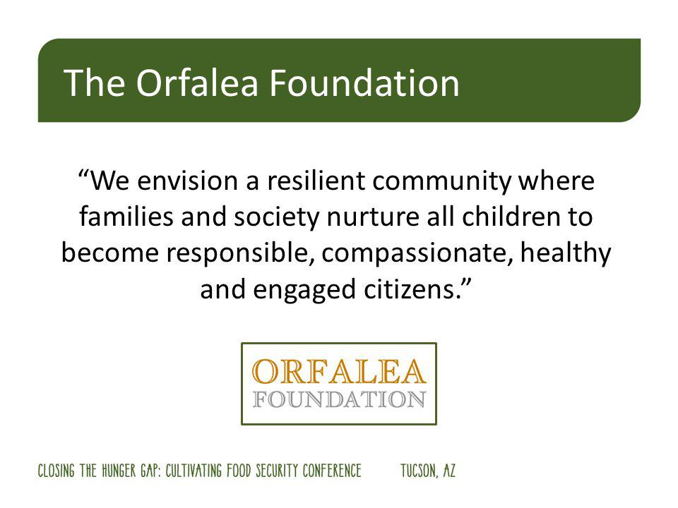 We envision a resilient community where families and society nurture all children to become responsible, compassionate, healthy and engaged citizens.