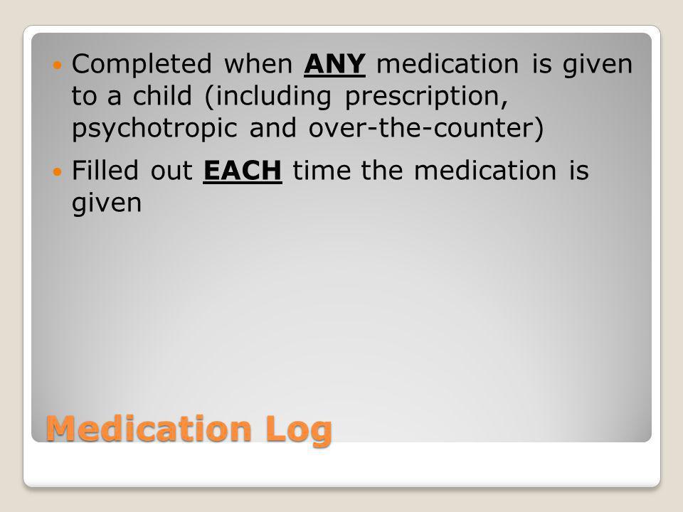 Part 2: Documentation/All Medications Training