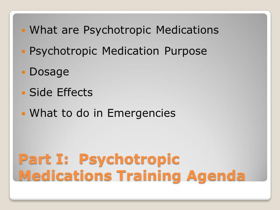 FCSVA Psychotropic Medication & Medication Administration Policies Just the Basics for Foster Parents