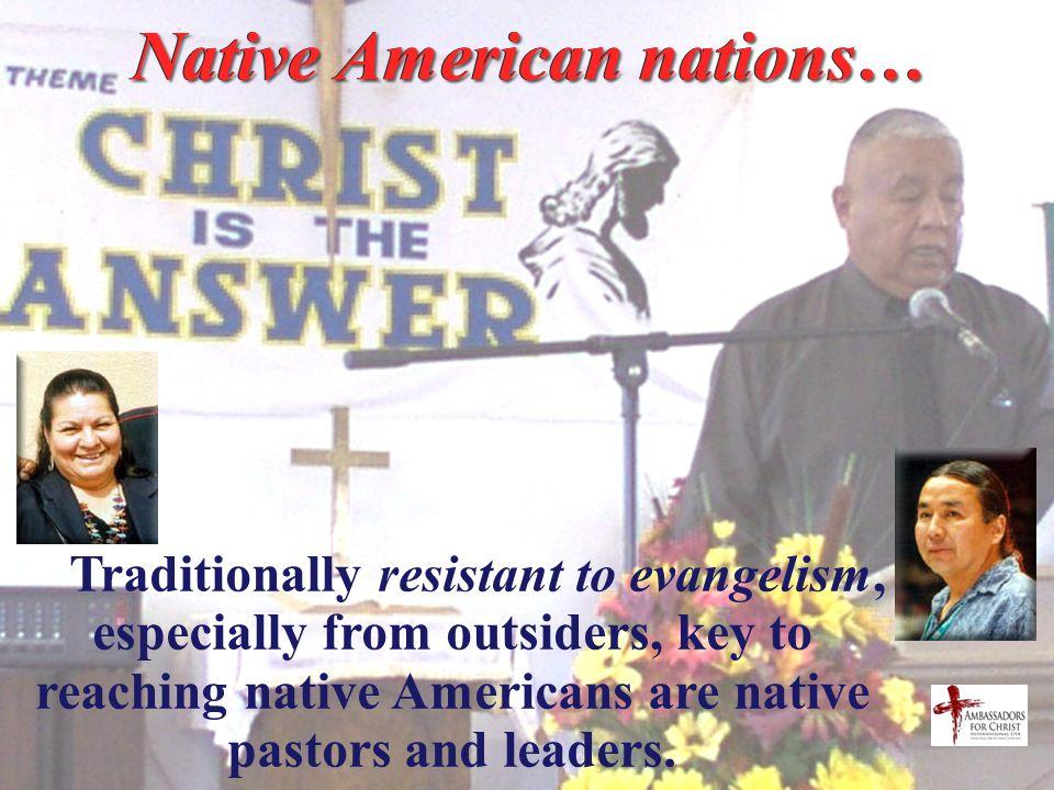 Ethnic Evangelism Operation World indicates that church growth among ethnic minorities is the growing edge of US evangelicalism today. An urban phenom