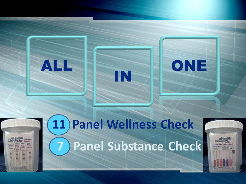 Collect Urine Sample to Fill Line 3 Minutes – Wellness Check Color Match Results – Check Box Enter Subject - Administered by - Date 5 Minutes – Substance Check Results – Check Positive (+) or Negative (-) Enter Subject - Administered by - Date Note Results out of Target Range Seek MD Guidance Analysis Simple Process